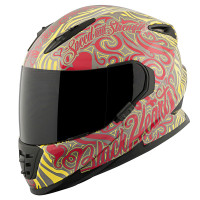 SS1310 Black Heart Helmet Red