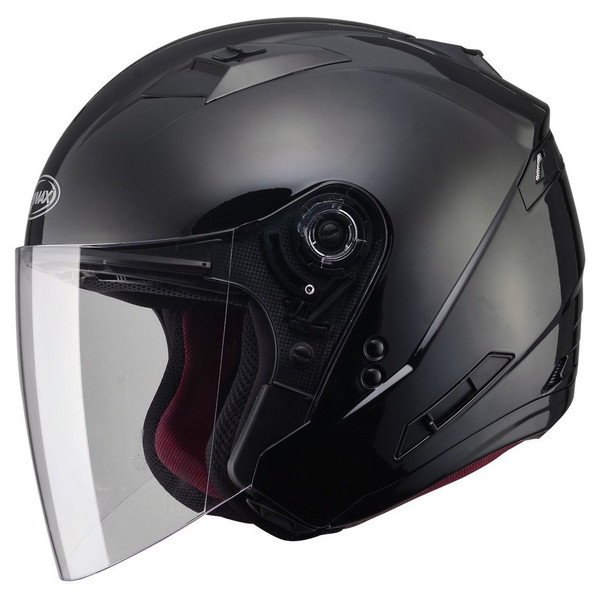 G-Max OF77 Helmet - Solid Black