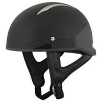 Speed and Strength SS310 Solid Speed Helmet Black