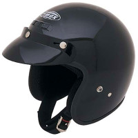 G-Max GM2X Open Face Helmet Black