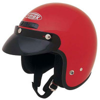 G-Max GM2X Open Face Helmet Red