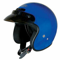 G-Max GM2X Open Face Helmet Blue