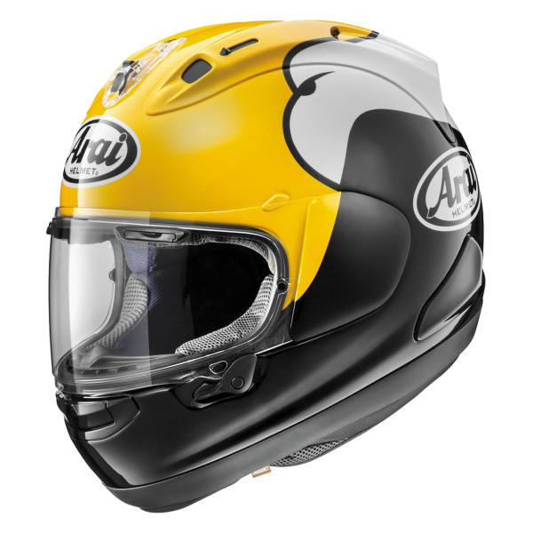 Arai Corsair X KR-1 Helmet Yellow 1
