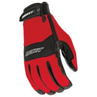 Joe Rocket RX14 Crew Touch Gloves Red