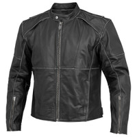 River Road Rambler Leather Jacket Front Side View