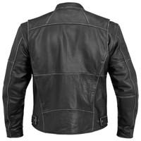 River Road Rambler Leather Jacket Back Side View
