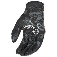 Joe Rocket Rocket Nation Women's Gloves Black Palm View