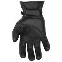 Black Brand Pinstripe Gloves Black 1