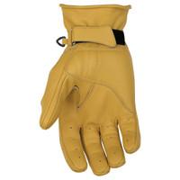 Black Brand Pinstripe Gloves Yellow 1