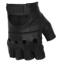 Black Brand Bare Knuckle Shorty Gloves Black