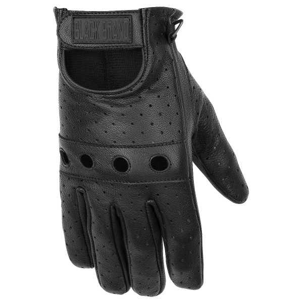 Black Brand Bare Knuckle Gloves Black