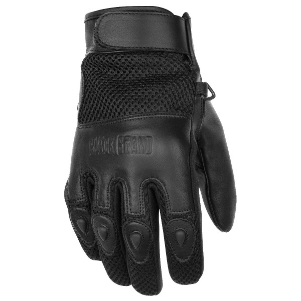 Black Brand Challenge Gloves Black