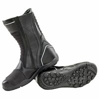 Joe Rocket Meteor FX Boots Black Down Side View