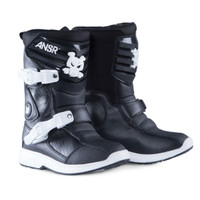 Answer Racing Pee Wee Black Boots
