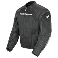 Honda CBR Mens Mesh Jacket Black