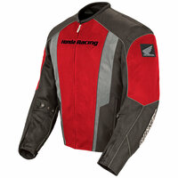 Honda CBR Mens Mesh Jacket Red