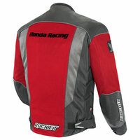 Honda CBR Mens Mesh Jacket Red 2