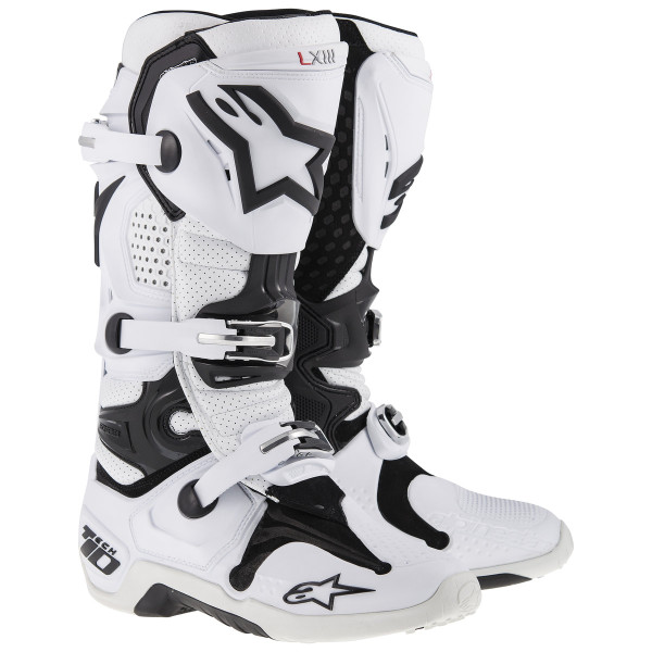 Alpinestars Tech 10 Vented Boots White
