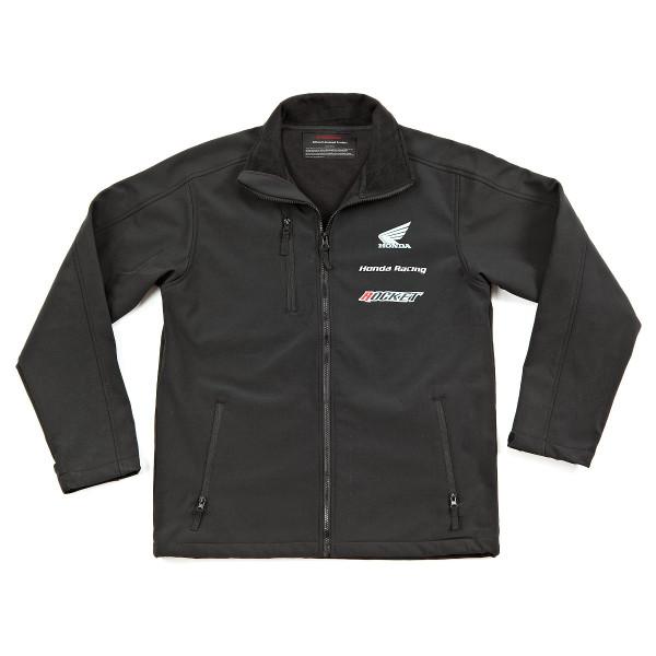 Honda Racing Soft Shell Jacket Black