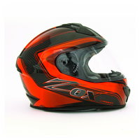 Zox Odyssey Excaliber Helmets Red