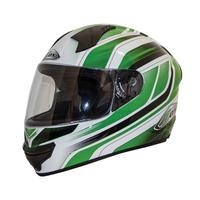 Zox Thunder R2 Anthem Helmets Green