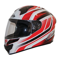 Zox Thunder R2 Anthem Helmets Red