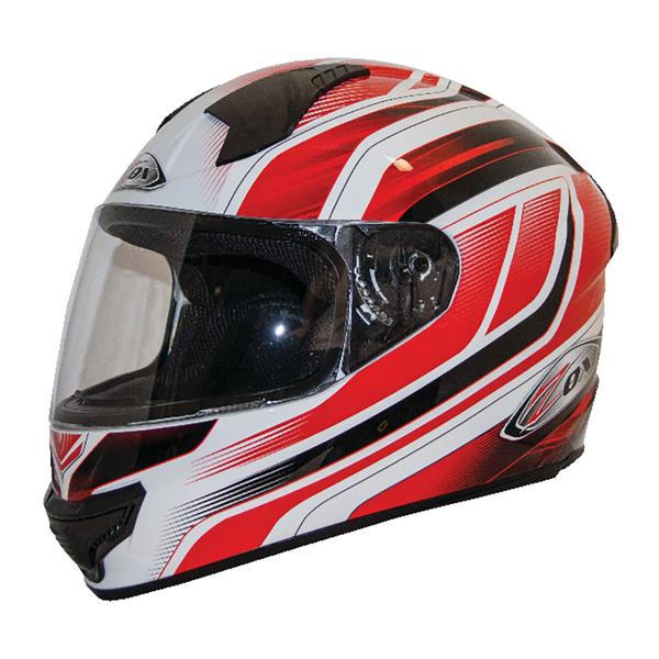 Zox Thunder R2 Anthem Helmets Red