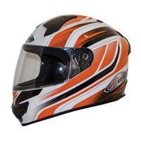 Zox Thunder R2 Anthem Helmets Orange