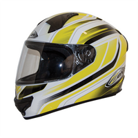 Zox Thunder R2 Anthem Helmets Yellow