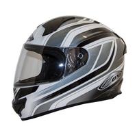 Zox Thunder R2 Anthem Helmets Silver