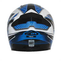 Zox Thunder R2 Force Helmets Blue 2