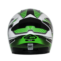 Zox Thunder R2 Force Helmets Green 1