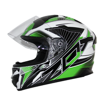 Zox Thunder R2 Force Helmets Green