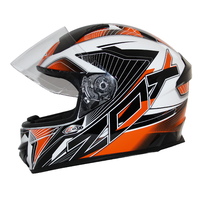Zox Thunder R2 Force Helmets Orange