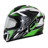 Zox Thunder R2 Force Helmets Green 3