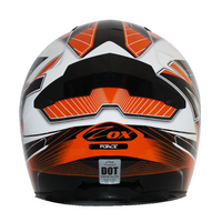 Zox Thunder R2 Force Helmets Orange 1