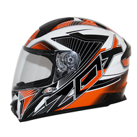 Zox Thunder R2 Force Helmets Orange 2