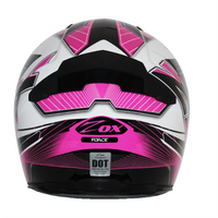 Zox Thunder R2 Force Helmets Pink 1