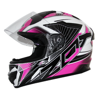 Zox Thunder R2 Force Helmets Pink