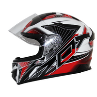 Zox Thunder R2 Force Helmets Red