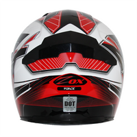 Zox Thunder R2 Force Helmets Red 1
