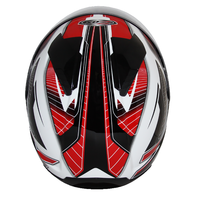 Zox Thunder R2 Force Helmets Red 3