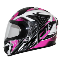 Zox Thunder R2 Force Helmets Pink 2