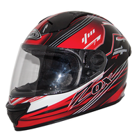 Zox Primo Junior Hero Helmets Red