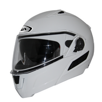 Zox Condor Svs Solid Helmets White