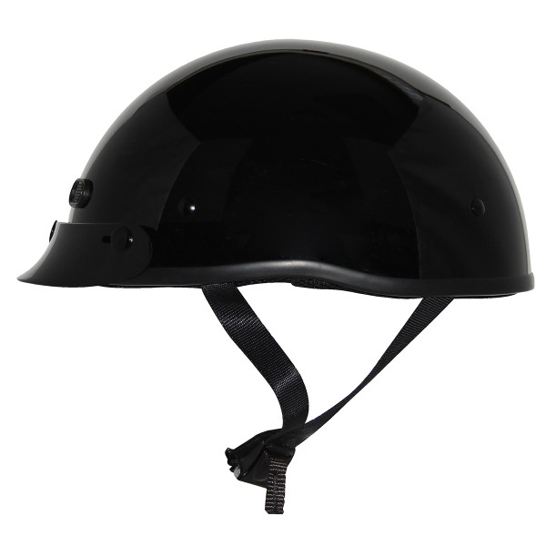 Zox Mikro Custom Solid Helmets  Black