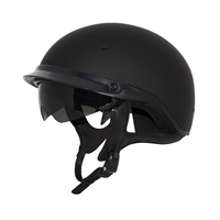 Zox Roadster Ddv Solid Helmets Matte Black 1