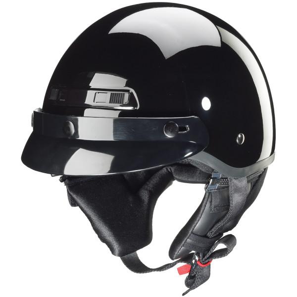 Zox Banos Stg Solid Helmets  Black