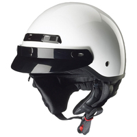 Zox Banos Stg Solid Helmets  White