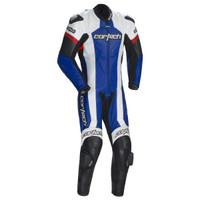 Cortech Adrenaline RR One-Piece Race Suit Blue